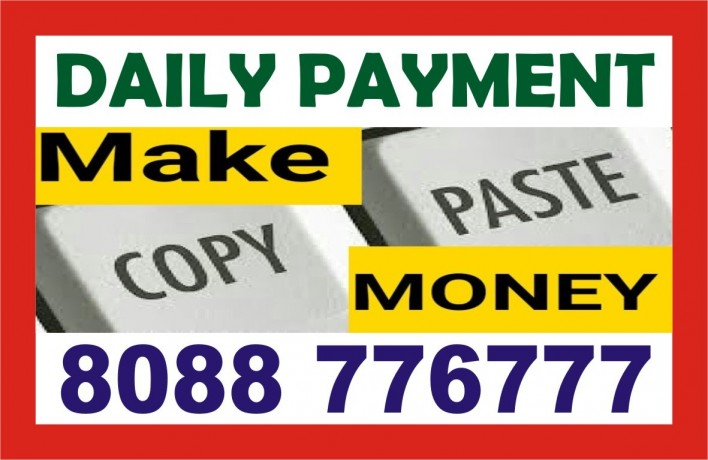 online-copy-paste-job-1640-work-at-home-job-daily-payment-big-0