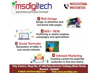 Social media marketing by Msdigi Tech.