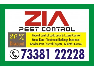 Zia Pest Control   Cockroach Peat Service Rs. 1499 only for Restaurant   1803