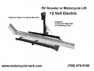 Motorhome Motorcycle Lift