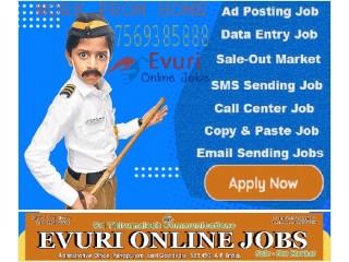 Home Based Data Entry Operator / Home Based Computer Typing job
