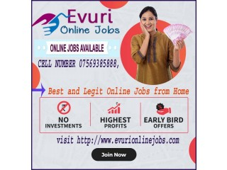 Ad Heading / Title : Full Time / Part Time Home Based Data Entry Jobs