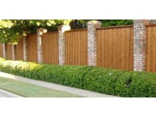 Wooden Driveway Gate Plano, Texas